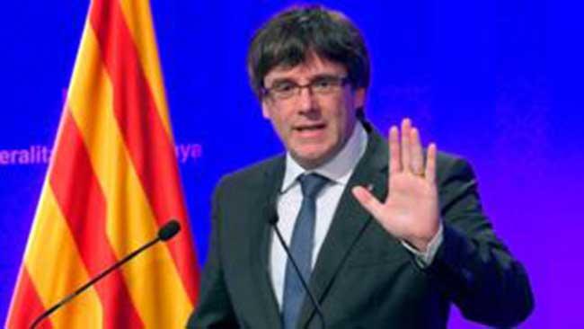 Resultado de imagen para presidente de cataluña