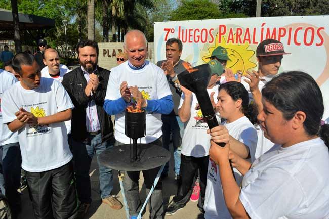Septima Edicion De Los Juegos Paralimpicos Del Grupo Despertar