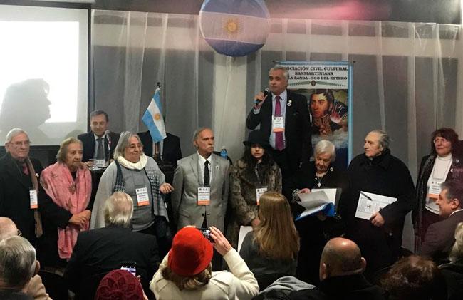 San Lorenzo participa de un Encuentro Nacional Sanmartiniano